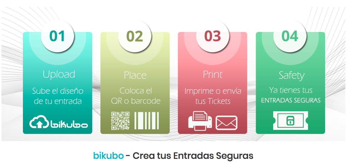 Crea tickets seguros